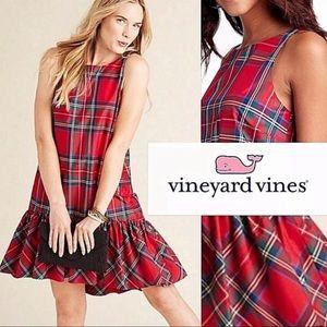 VINEYARD VINES jolly Amelia plaid swing dress